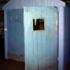 writing shed door