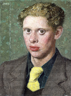 Alfred Janes, Dylan Thomas, 1934 (c) Artist's Estate