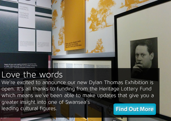 dylan thomas exhibition