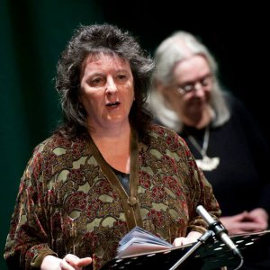 Carol Ann Duffy and Gillian Clarke 300