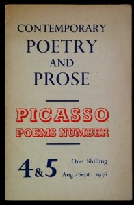 Contemporary Poetry and Prose