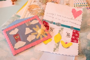 Holiday Memory-Letters