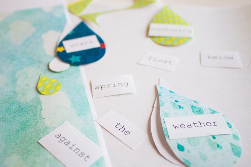 'Here in this spring' Activity: Write and Decorate a Letter