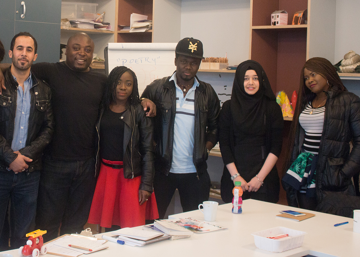 Free Creative Writing Workshops for Refugees and Asylum Seekers