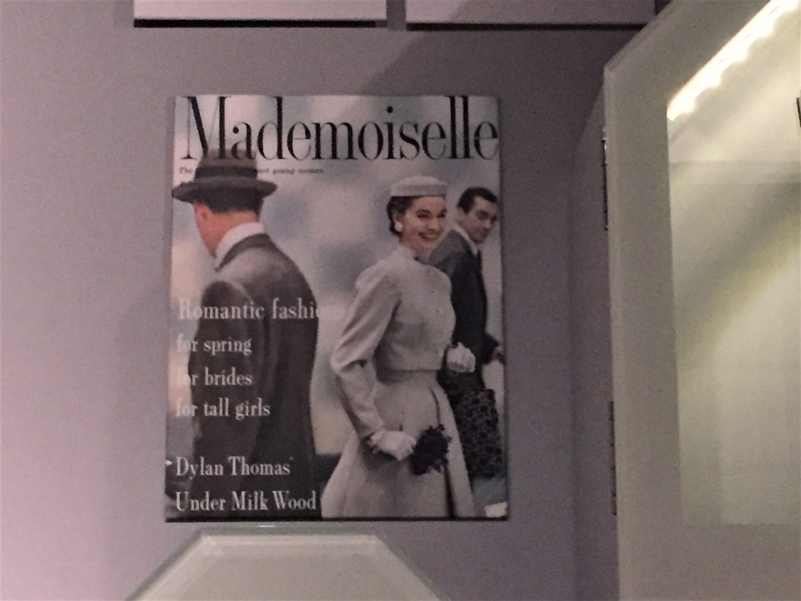 Dylan Thomas, Sylvia Plath, Under Milk Wood and Mademoiselle Magazine