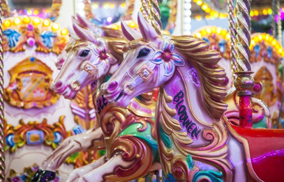 'All the fun of the fair in the hot, bubbling night': Write your own summer Fairground